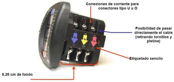 conexiones analizador redes