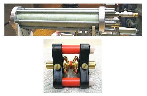 Celda de prueba y electrodos para presión de aceite 1-100 barras en el equipo portatest