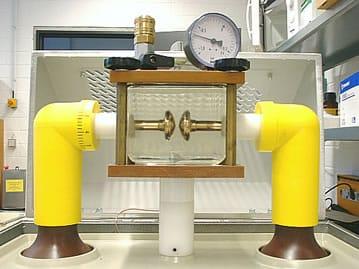 Sistema de prueba automático Portatest con celdas de medida