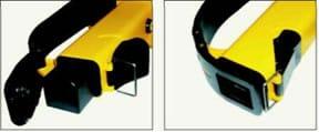 instalación de batería cámara termográfica amperis IRF2 para incendios