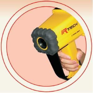 cámara termográfica amperis IRF2 para inspección en incendios forestales