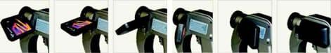 la cámara termográfica amperis IRTEi cuenta con lcd rotable