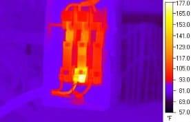 Visión con cámara termográfica infrarroja