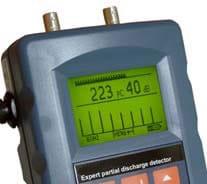 picoCoulomb equipo portátil detección descargas parciales