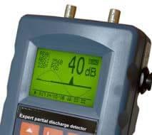 valor de cresta equipo portátil detección descargas parciales