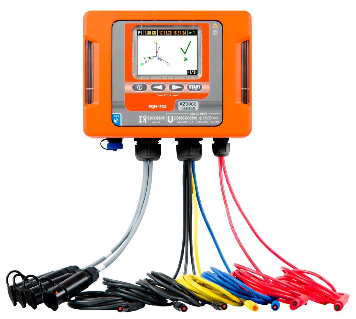 Analizadores de calidad de energía APQM-702/APQM-703