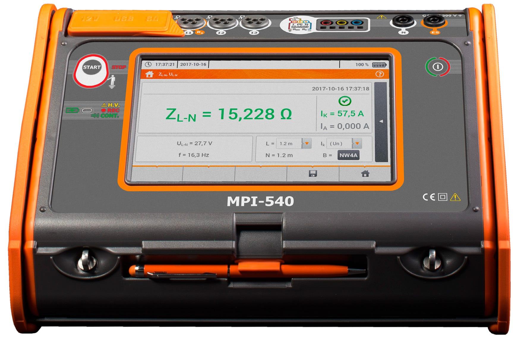AMPI-540 Paramètre d'installation électrique multifonctionnelle
