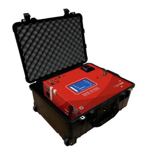 Portable gas analyser rapidox 6100