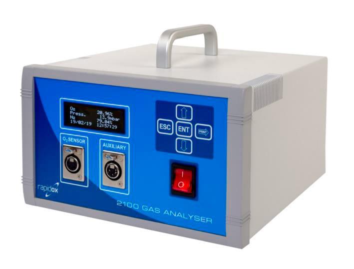 Oxygen Analyzer Rapidox 2100