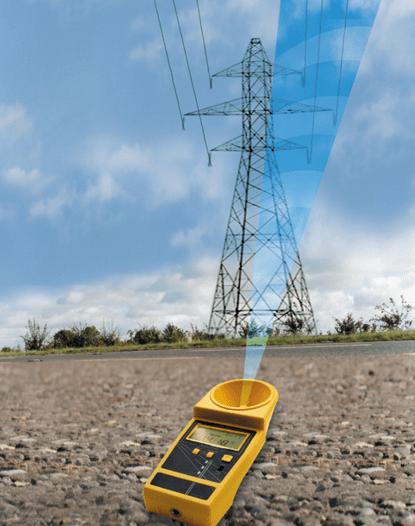 como medir la altura de un cable