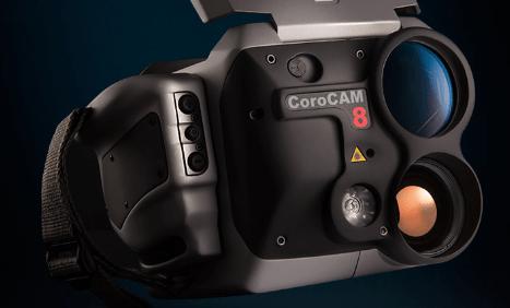cámara efecto corona