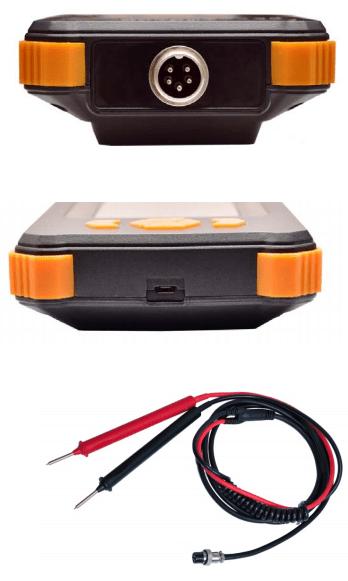 Comprobador de baterías económico