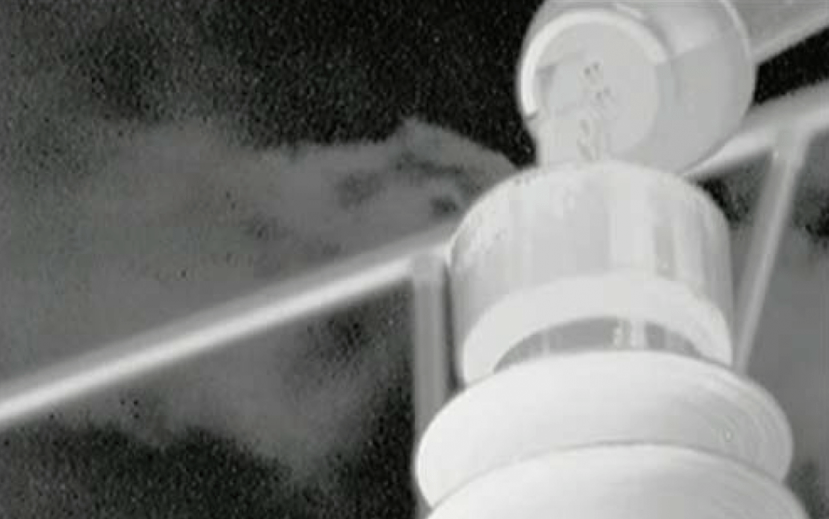 Fuga de SF6 de un aislador de alto voltaje