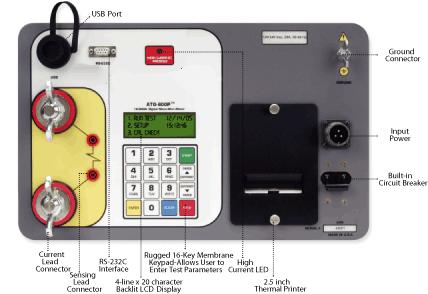 micro-ohmmeter to measure low resistances Amperis ATO 600P