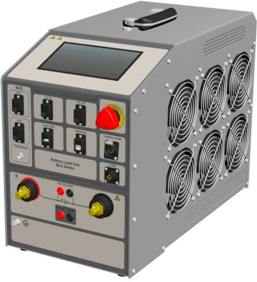 Descargador baterías de respaldo