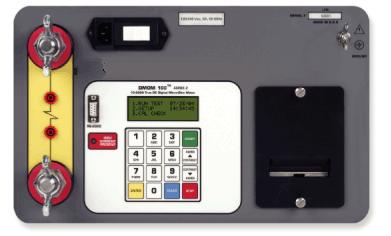 testing EHV circuit-breaker contact resistances