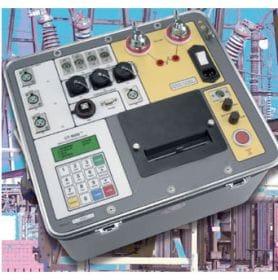Analyseur de disjoncteur d'exploitation temps AMPERIS CBT 8000