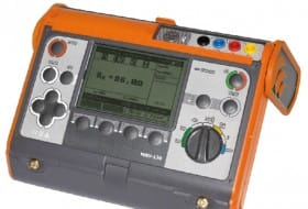 Medidor de ligação à terra AMRU-120