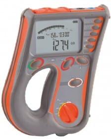 Medidor de Resistencia de Aislamiento AMIC-2505