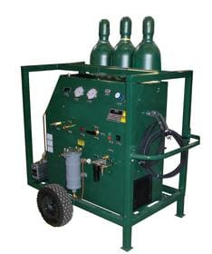 Unidad de recuperación de gas SF6 AGRU-7