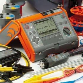Medidor multifuncional de instalações elétricas AMPI-520