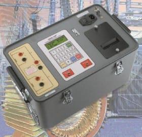 Mesure de la résistance des enroulements QRM-10 p