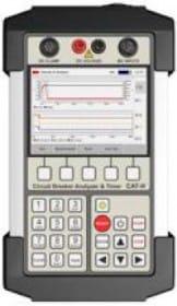 Analizador de Interruptores Automáticos y Temporizador Handheld