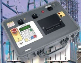 Teste automático de relação de espiras de três fases TTRT 03A