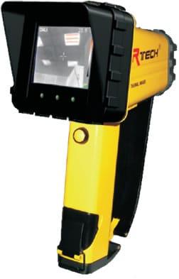 Cámara termográfica contra incendios Amperis IRF2