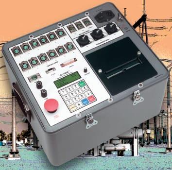 Analyseur de disjoncteur d'exploitation temps AMPERIS CBT 7000