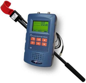 detector descargas parciales