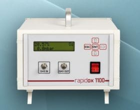 Analizador electroquímico de oxígeno Rapidox 1100E