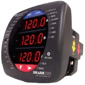 Multifunction power and energy meter SHARK 200