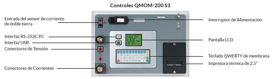Controles Micróhmetro QMOM 200 S3