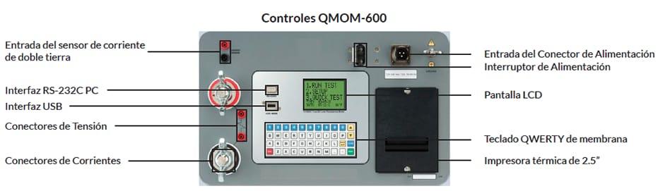 Controles Micróhmetro QMOM 600