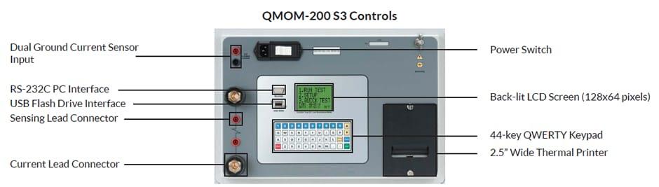 Controls Microhmmeter QMOM 200 S3