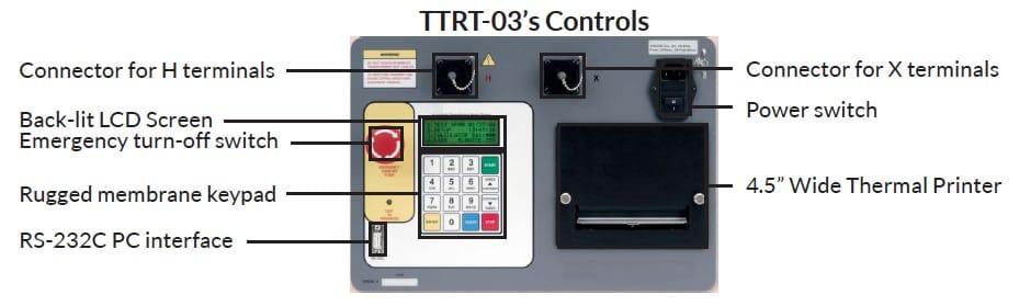 Controls of Transformers Testing TTRT 03