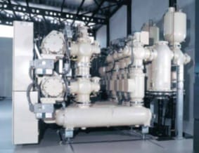 Recuperación, purificación y almacenamiento de gas SF6 desde el interruptor