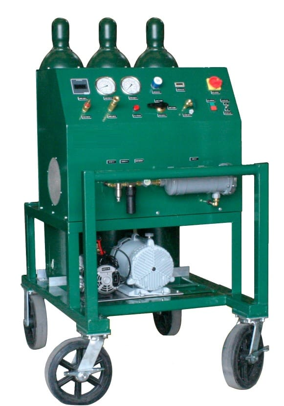 SF6 gas recovery unit - AGRU-8 series