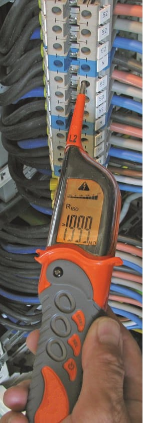 Using Insulation Resistance Meter AMIC-2