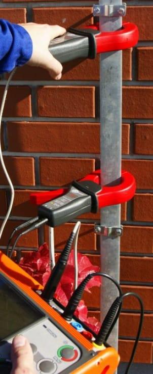 Uso del Telurómetro AMRU 120 de Amperis