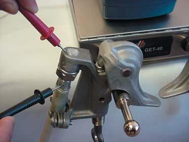 Aplicaciones del PGet-401 - Control de dispositivos de puesta a tierra