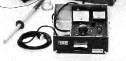 Detalle Caja de control Probador dieléctrico Alto voltaje C-DC