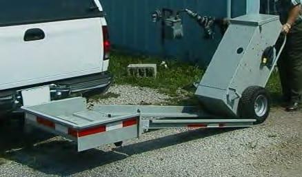 Carga de un equipo AXF al transportador manual