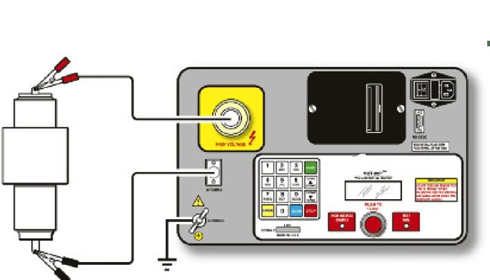 Conexões testador de vácuo de frascos HVBT-80P