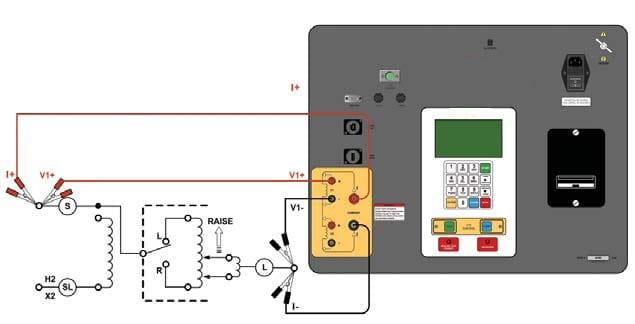Conexiones óhmetros para resistencias de bobinado ATRM-20/ATRM-40