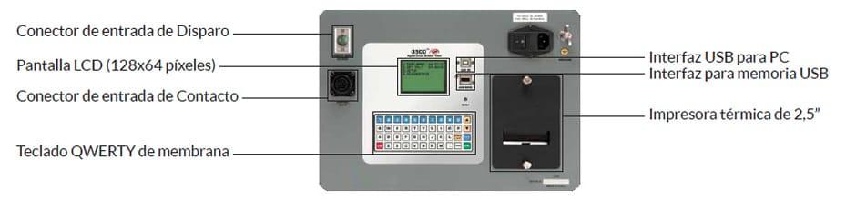 Controles Analizador de interruptores CBT-3500