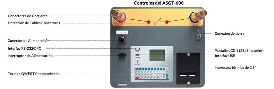 Controles del ASGT-600
