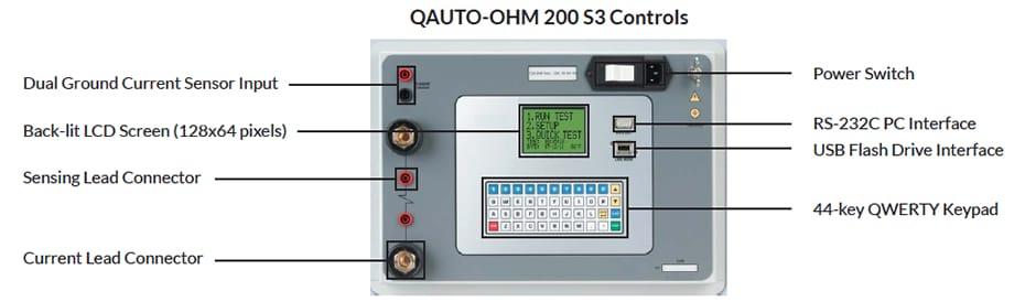Controls Microhmmeter QAuto Ohm 200 S3