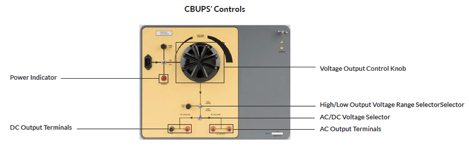 Controls Universal Power Supply Amperis CBUPS